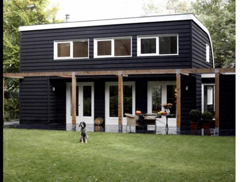Vakantiehuis houtstaal kwalitatief hoogwaardig for Vakantiehuis bouwen